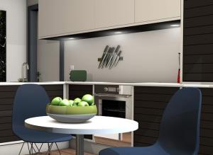 Nischenrückwand Küche